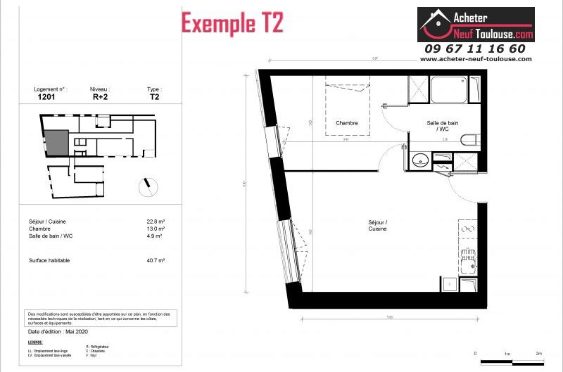 Appartements neufs à Toulouse Minimes