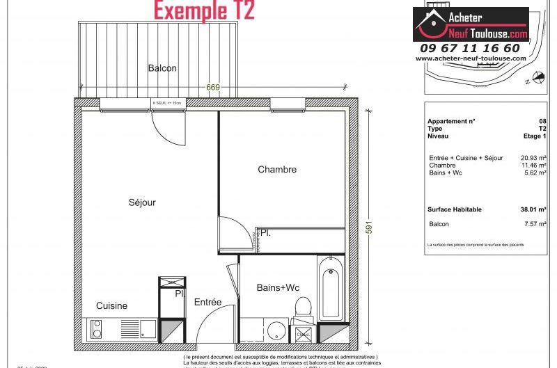 Appartements neufs à Labarthe-sur-lèze