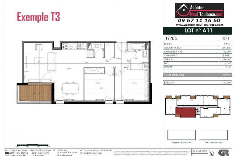 Appartements neufs à Aussonne