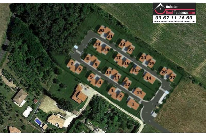 Maisons neuves à Rouffiac Tolosan