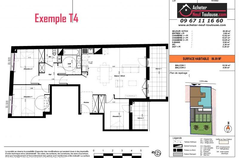 Appartements neufs à Toulouse Saint Cyprien