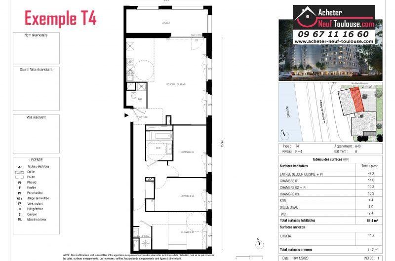 Appartements neufs à Toulouse Empalot