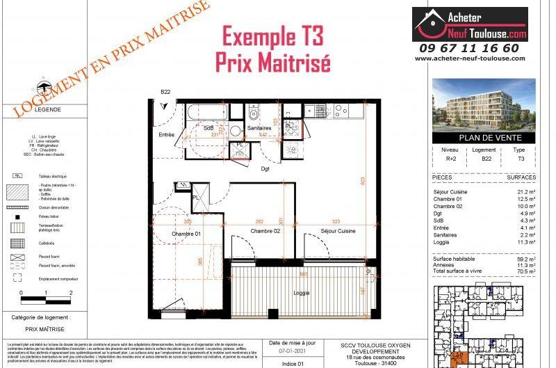 Appartements Prix Maîtrisé Barrière De Paris