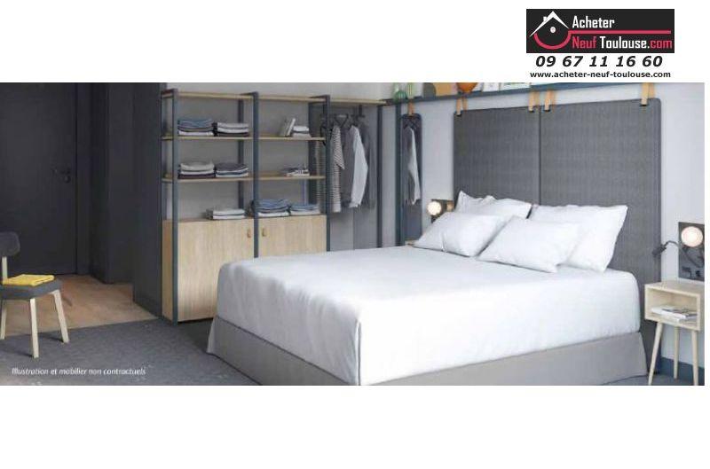 Appartements neufs résidence hôtelière à Blagnac