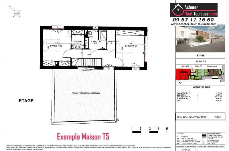 Maisons neuves à Toulouse Guillaumet