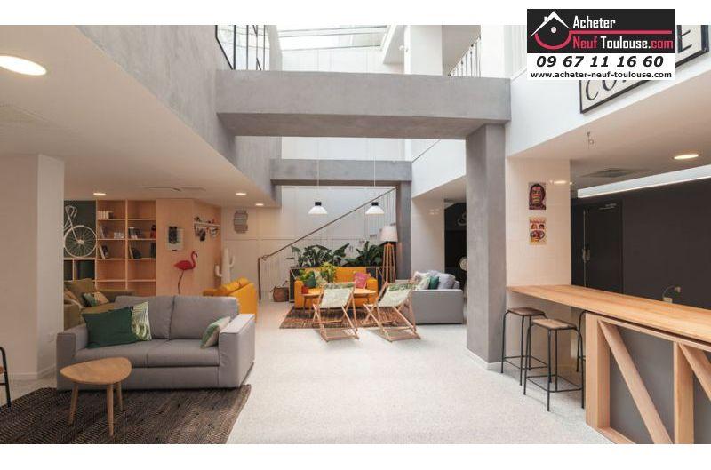 Appartements étudiants à Toulouse Les Arènes