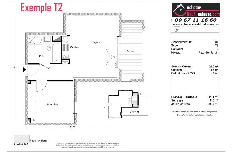 Appartements neufs à Toulouse Amidonniers