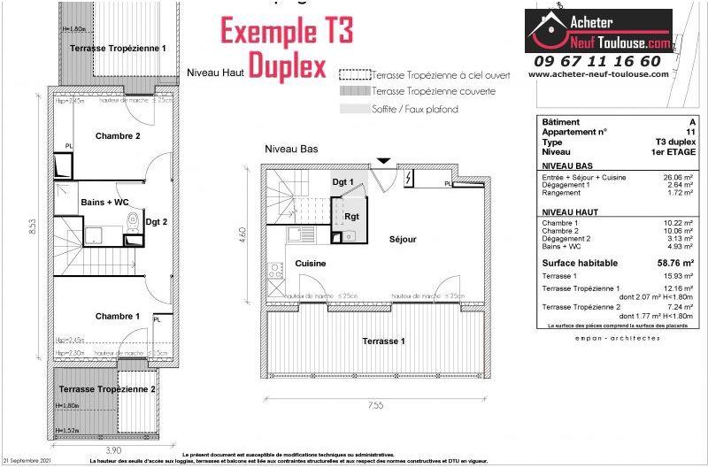 Appartements neufs à Toulouse Grand Selve