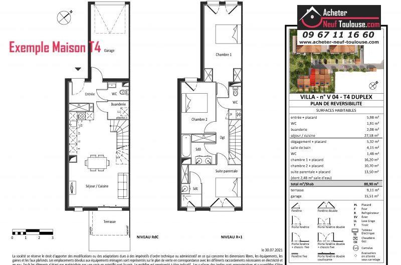 Maisons neuves à Saint Alban