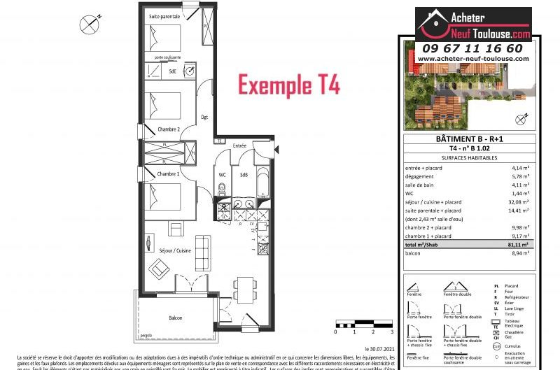 Appartements neufs à Saint Alban